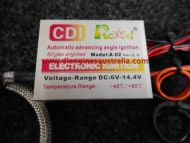 NEW RCEXL CDI Igniton Kit 10mm - NGK CM6 Plugs - TWIN - 6v to 14.4v (DLE60/100/111/170/222 etc)